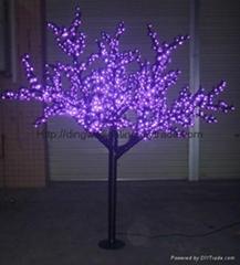 2M High LED Outdoor Christmas Cherry Tree Lights