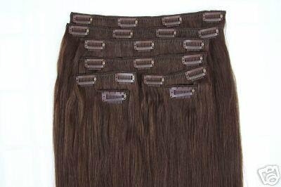 clip in hair 100g/pcs blonde colors made of 100% remy hair 2