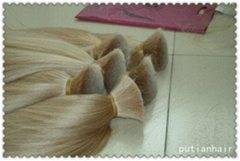 tape hair 100g/pcs blonde colors made of 100% remy hair