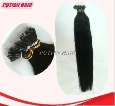 Newest 20'' Nano Ring hair 25s/packs 1g/s Indian remy 100% Human Hair Extensions