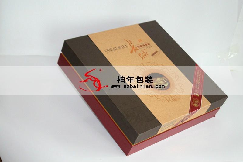 陕西红酒精美礼盒设计包装 2