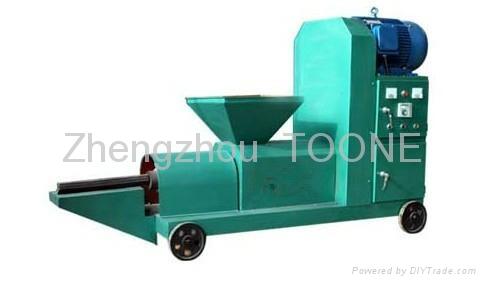 High efficient sawdust briquette charcoal making machine  2