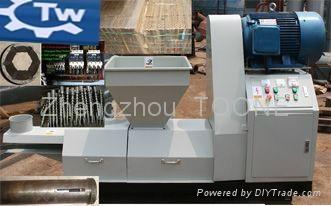 High capacity wood rod charcoal making machine in china 1