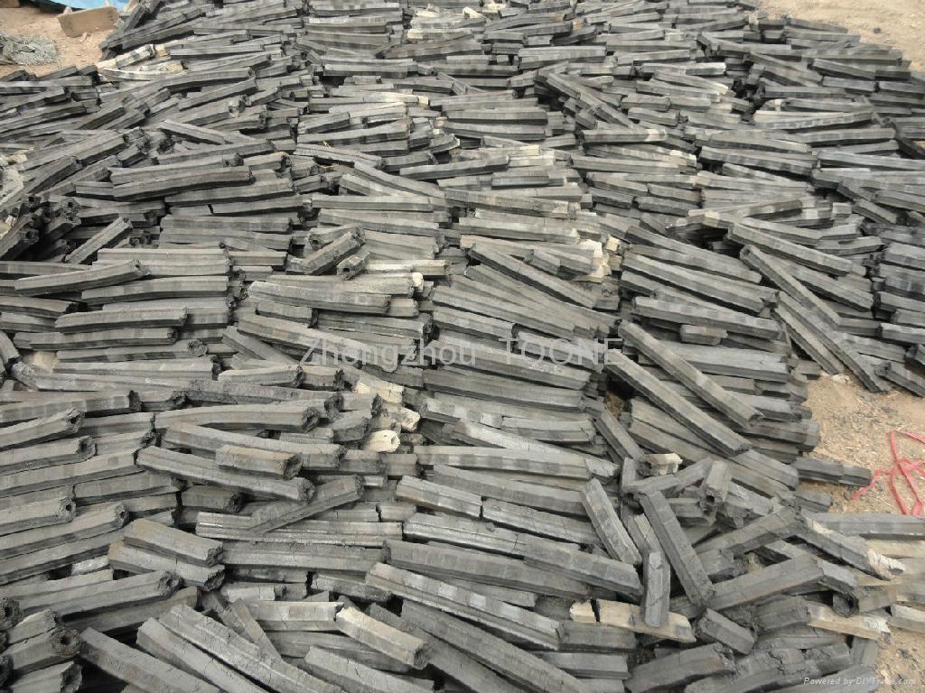 High capacity wood rod charcoal making machine in china 4
