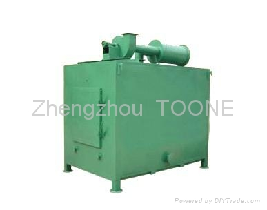 smokeless wood briquette carbonization furnace in China 1