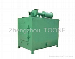smokeless wood briquette carbonization furnace in China