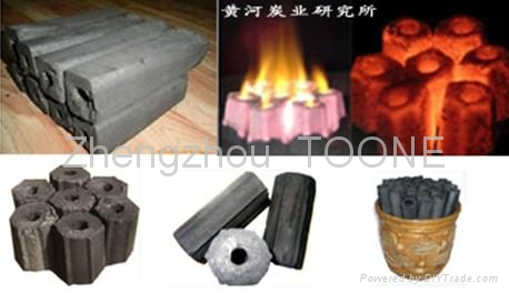 smokeless wood briquette carbonization furnace in China 3