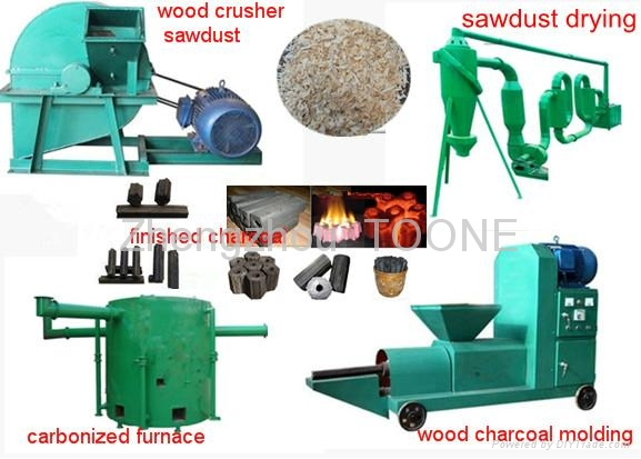 TOP Quality Wood Carbonizing Furnace for Charcoal Making  4