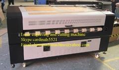 Fabric auto feeding laser cutting machine