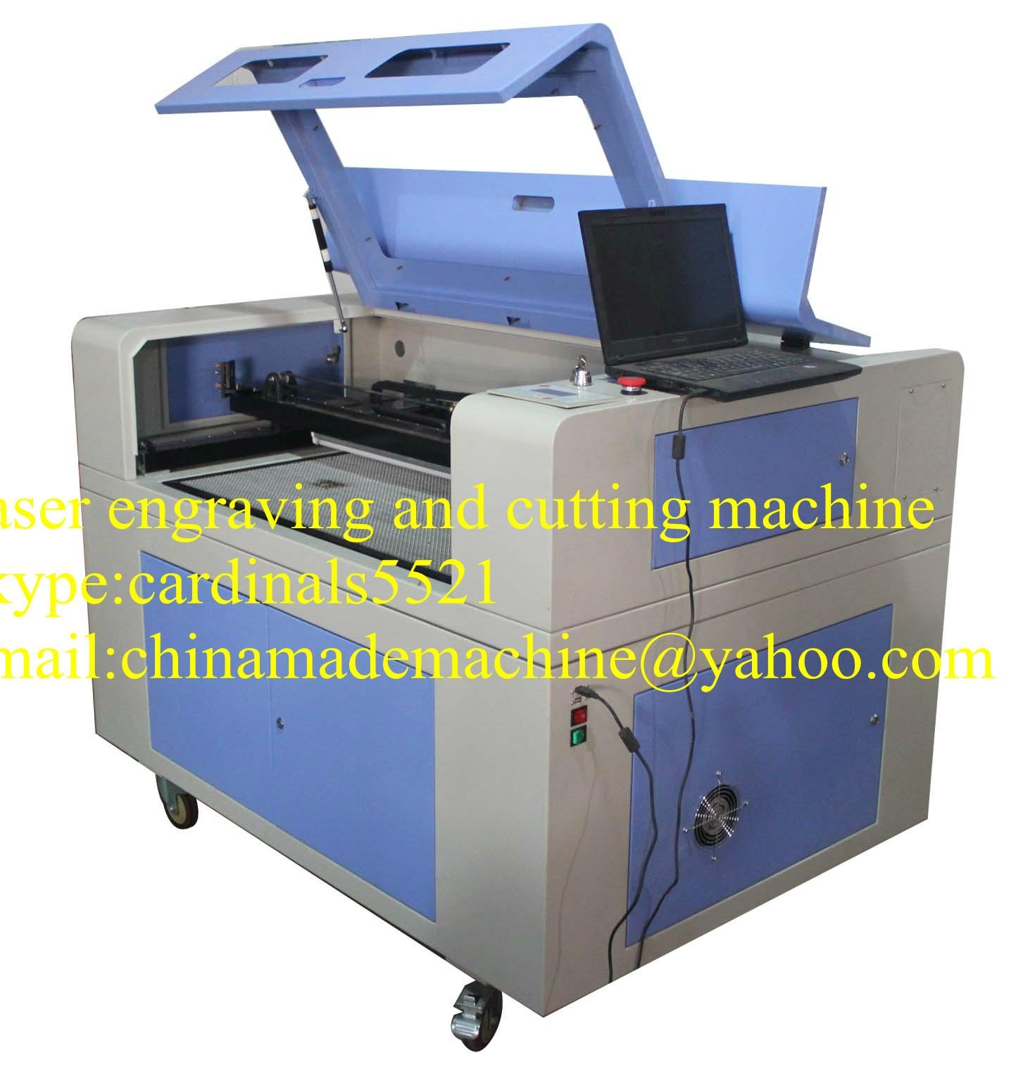 laser engraving machine ZK 1290 with RECI brand 1