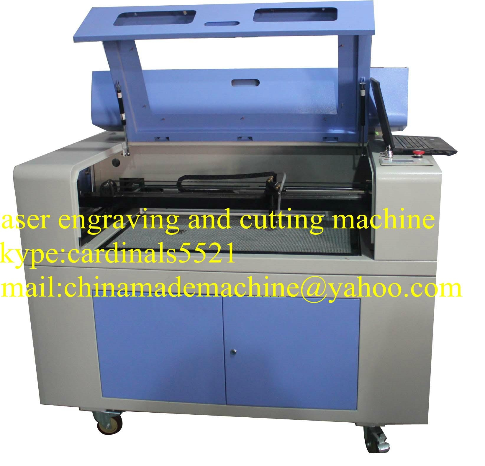 laser engraving machine ZK 1290 with RECI brand 2