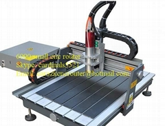 zk 6060 CNC router for advertising desktop style