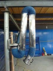 不鏽鋼硬管吸氣臂