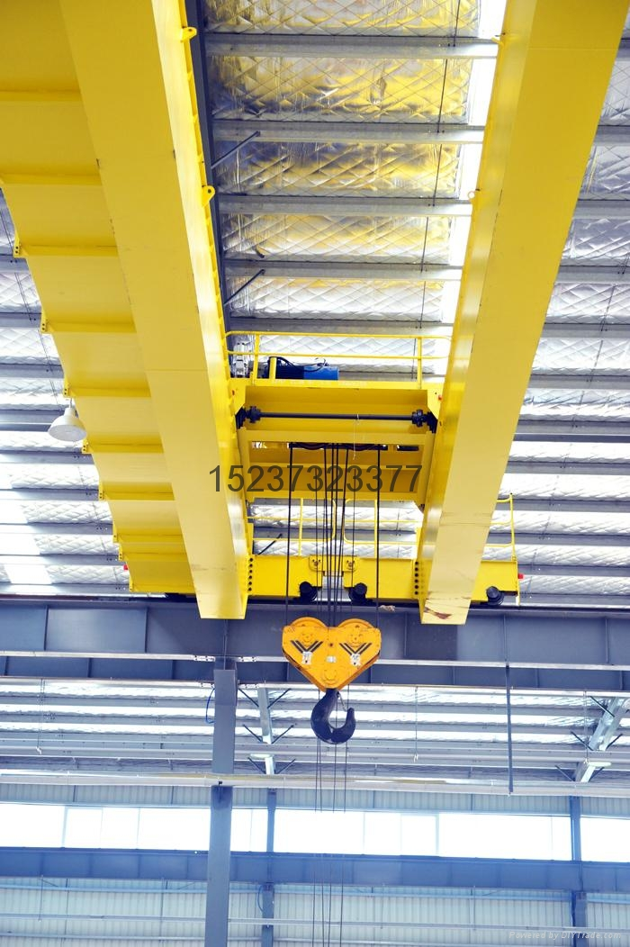 河南大方重機歐式吊鉤橋式起重機