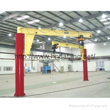 河南大方豫工牌BZ型定柱式旋臂起重机 3