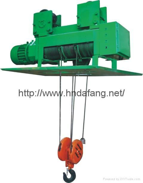 河南大方豫工牌YH型冶金电动葫芦1-20t 4