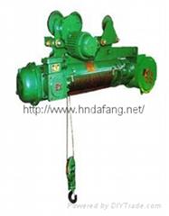 河南大方豫工牌HB防爆钢丝绳电动葫芦DIICT4及以下1-20吨