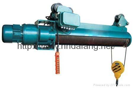 河南大方豫工牌HB防爆钢丝绳电动葫芦DIICT4及以下1-20吨 3