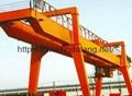 U型双梁吊钩门式起重机5-500吨 2