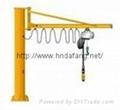 BZD type stationary jib crane