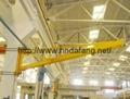 BZQ slewing crane wall jib crane