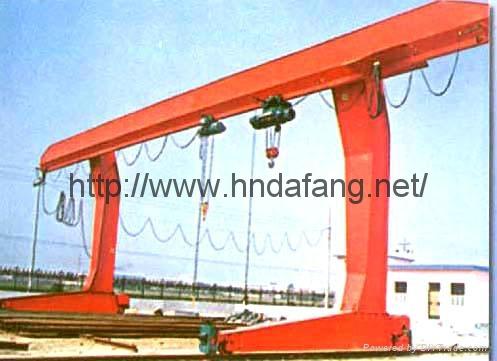 L型单主梁电动葫芦门式起重机 1
