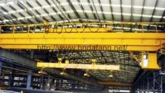QC 5-50/10t electromagnetic bridge crane
