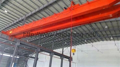 The LDP type 3-10t electric single-beam bridge crane