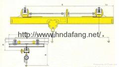 SL型手动单梁起重机0.5-10吨