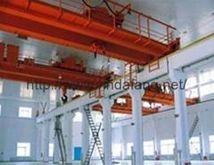 Electromagnetic sucker bridge crane QC - type electromagnetic crane