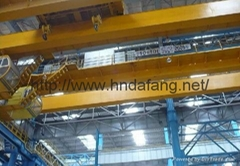 LH - type electric hoist with two-beam crane 5-32 tons