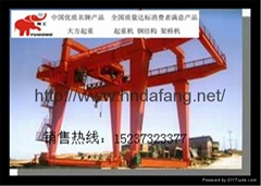 Top lift gantry crane