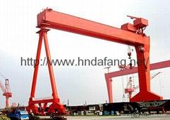 Shield gantry crane