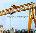 Electric suspended crane