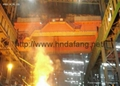Double beam metallurgical bridge crane