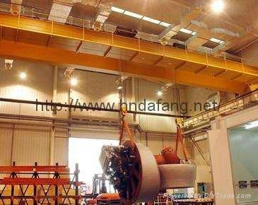 电厂用低净空桥式起重机  1
