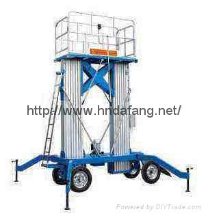 双立柱自行走式双桅升降机  1