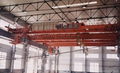 QD type 5-500 ton double-beam bridge crane