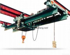 过轨式起重机煤电厂专用过轨悬挂起重机