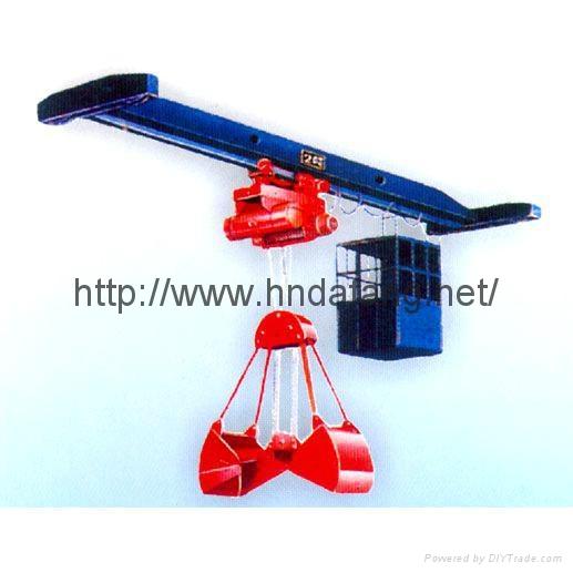LDZ electric single beam grab crane 1