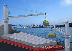 Marine deck crane Cantilever crane