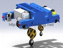 ND型電動葫蘆、NDS型小車式電動葫蘆