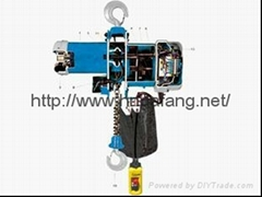 NL type European ring chain electric block