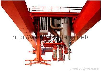 The anode roasting multi-functional crane 1