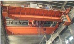 Electrolytic copper aluminum multi-functional double beam bridge crane