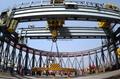 Circular crane curved crane Reactor