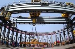 河南大方核電專用環形吊車弧形吊車