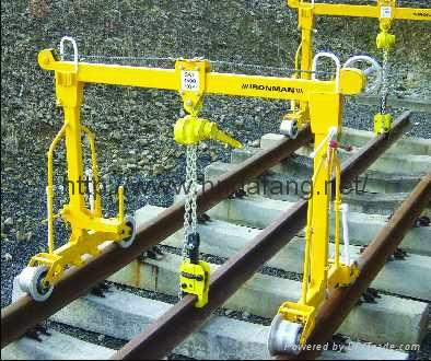 Rail crane Subway paving machine 1