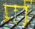 Rail crane Subway paving machine