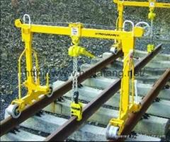鋪鋼軌用起重機地鐵鋪軌機